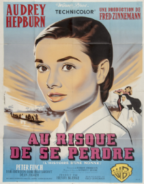 the nun's story french movie poster audrey hepburn jean mascii